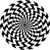 Optical illusion Stock Image