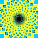 Optical Illusion. Black hole Royalty Free Stock Photography