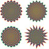Optical illusion Royalty Free Stock Photos