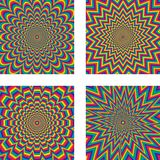 Optical illusion Stock Images