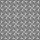 Optical Illusion. Pattern making the screen tilt towards the right Stock Images