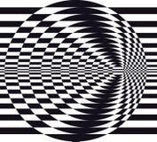 Optical illusion Stock Photo