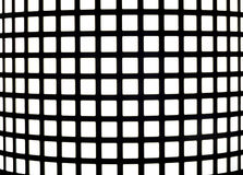 Optical Illusion. When stare at image, dots seems to come out of the intersections royalty free stock image