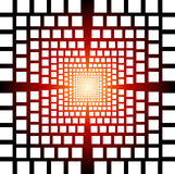 Optical illusion abstract background Stock Photo