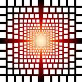 Optical illusion abstract background stock illustration