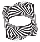 Optical illusion abstract element Royalty Free Stock Photos