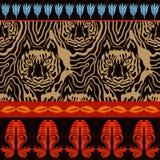 Optical illusion animal print. Stock Photo