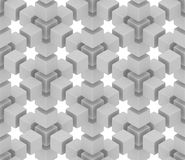 Optical illusion background Stock Photography