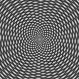Optical illusion, black and white Stock Images
