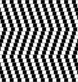 Optical illusion black and white Stock Photos