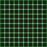Optical illusion, colorful blocks vector illustration