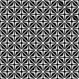 Optical illusion with geometric drawing Royalty Free Stock Photos
