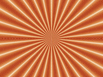 Optical Illusion Golden Nova. Made With Conventional Graphic App. Vibrancy Accomplished Royalty Free Stock Photography