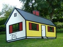 Optical Illusion House
