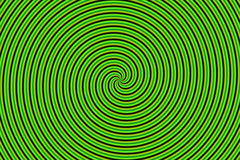 Optical Illusion Hypno Green Royalty Free Stock Images