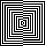 Optical illusion for hypnotherapy Royalty Free Stock Photography
