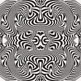 Optical illusion illustration Stock Image