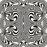 Optical illusion illustration Stock Photography