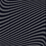 Optical illusion, moire background, abstract lined monochrome ti Royalty Free Stock Photography