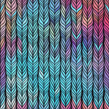 Optical illusion: Multicolor abstract seamless pattern. Texture Stock Image