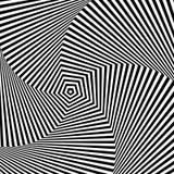 Optical illusion Stock Image
