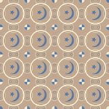 Optical illusion pattern 4 Stock Image