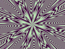 Optical Illusion Purple Nova Multiple Royalty Free Stock Photos