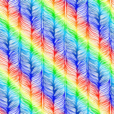 Optical illusion. Seamless Plait Pattern Royalty Free Stock Photography
