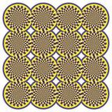 Optical illusion Spin Cycle (Vector) Royalty Free Stock Photos
