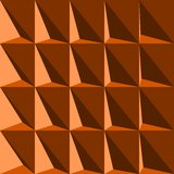 Optical illusion triangle Royalty Free Stock Photos