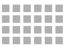 Optical Illusion Vanishing Dots Grey and White Stock Photos