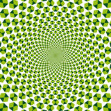 Optical illusion (Vector)  Royalty Free Stock Photography
