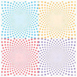 Optical illusion (Vector) royalty free stock images