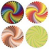Optical illusion (Vector) stock illustration