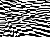 Optical illusion, vector Royalty Free Stock Photography