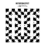 Optical Illusion. Vector 3d Art. Distortion Dynamic Effect. Geometric Magic Background. Optical Illusion. Vector 3d Art. Distortion Dynamic Effect. Geometric royalty free illustration