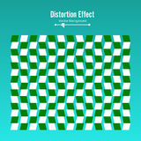 Optical Illusion. Vector 3d Art. Motion Dynamic Effect. Movement Executed In The Form. Geometric Magic Background. Stock Images