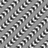 Optical Illusion, Vector Seamless Pattern. Stock Images