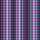 Optical Illusion Vector Seamless Pattern Royalty Free Stock Photo