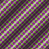 Optical Illusion Vector Seamless Pattern Stock Photo