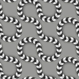 Optical Illusion, Vector Seamless Pattern. Some. Zig Zag Stripes, Optical Illusion, Vector Seamless Pattern. Some Motion Appear stock illustration