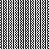 Optical illusion - vertical parallel lines made Royalty Free Stock Photo