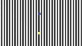 Optical illusion, visual phenomena stock video
