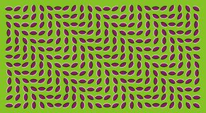 Optical illusions. Billowy optical illusion as the wave Stock Photos