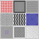 Optical Illusions Set Royalty Free Stock Photos