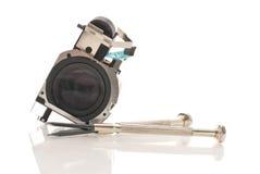 Optical Lens Element Stock Photo