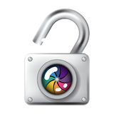 Optical lock system Royalty Free Stock Photography