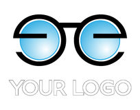Optical logo Stock Photography