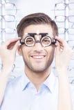 Optical measuring tool Stock Photos