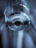 Optical microscope macro Stock Image